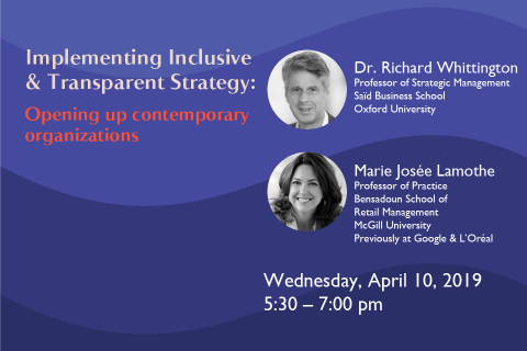 Implementing Inclusive & Transparent Strategy: Opening up contemporary organizations
