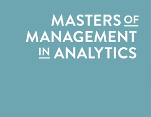 Masters of Management in Analytics