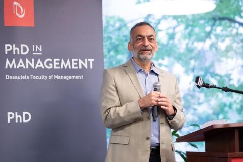 Samer Faraj - Director's message