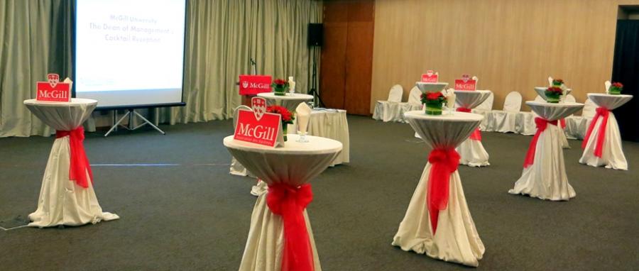 Alumni reception in Singapore