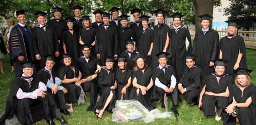 First graduating Class McGill HEC EMBA 2010 (Owen Egan)