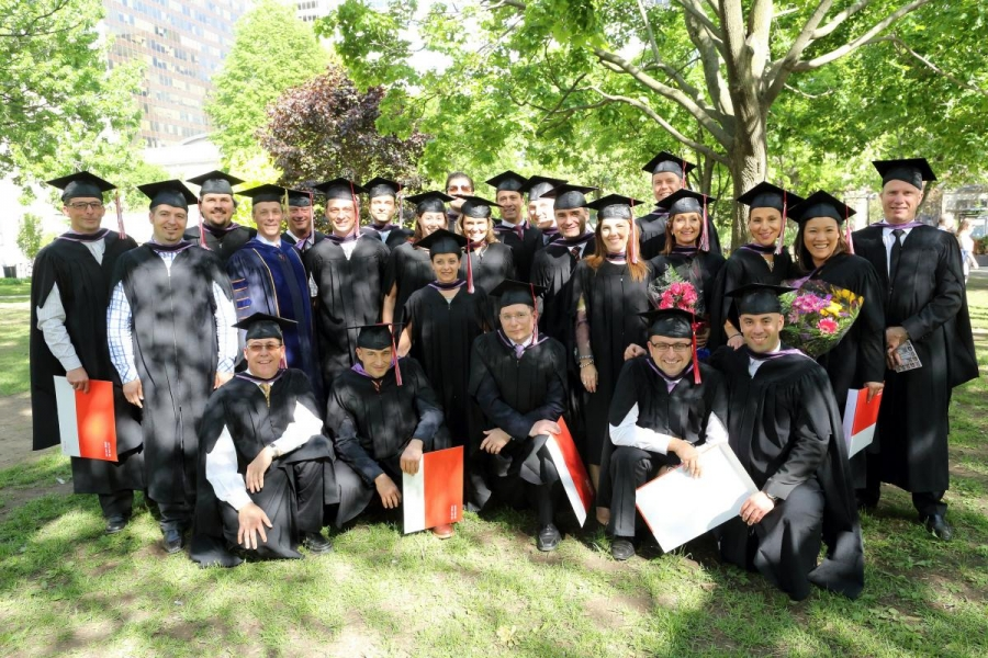 The EMBA Class of 2014