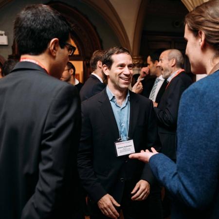 November 2, 2017 - Antonio Occhionero (BCom'94) at MacKinnon, Bennett & Co in conversation with students