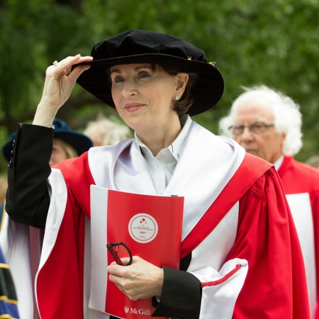 Honorary Doctorate Recipient Kathleen Taylor, CM., LLD'17 and Chair of the Board of the Royal Bank of Canada (RBC)