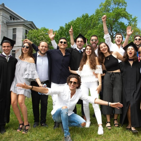 Class of 2018 Desautels graduates celebrate with friends and family