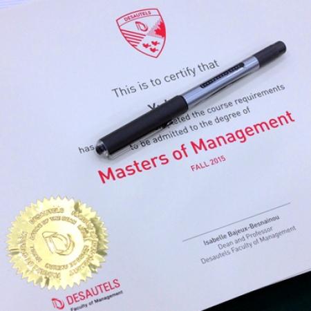 GMSCM signing of diplomas