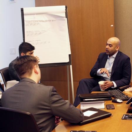 Harsha Rajamani, Goldman Sachs