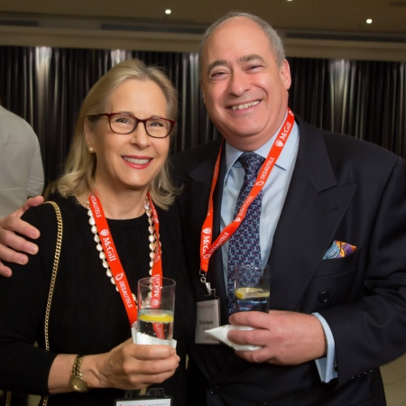 Diane Napier and Philip Napier (BCom'77)