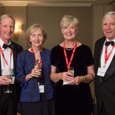 Mike Flynn (BCom'67), Mary-Ellen Flynn (BA'67), Sally Hutchison (BA'70), John Hutchison (BCom'67)