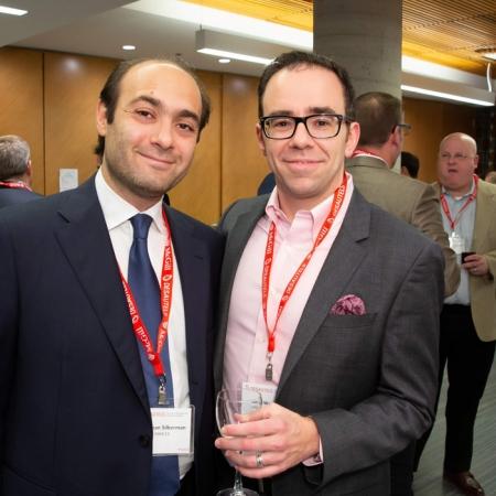 Jonathan Silberman (MBA'13), Sam Wasseran (MBA'16, MDCM'16)