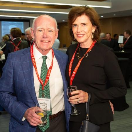 Brian Kelly (MBA'68) and Katherine Kelly