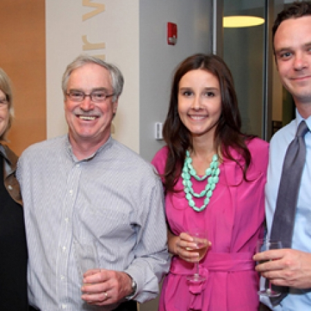 Margaret Ross, Kenneth Ross, Shauna Peck, K. Adam Ross, MBA'10 (Owen Egan)