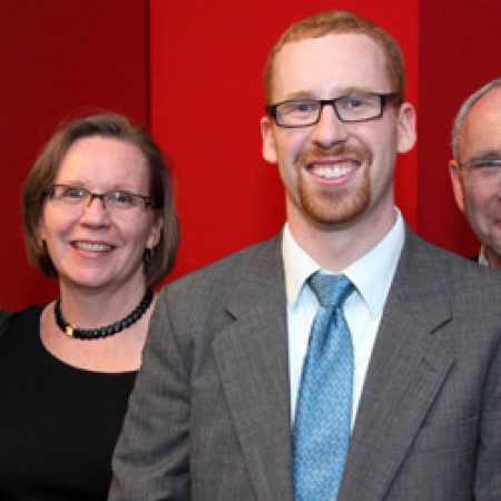 Greg Illson (MBA'12) (3rd from left) and family (Photo: Owen Egan)