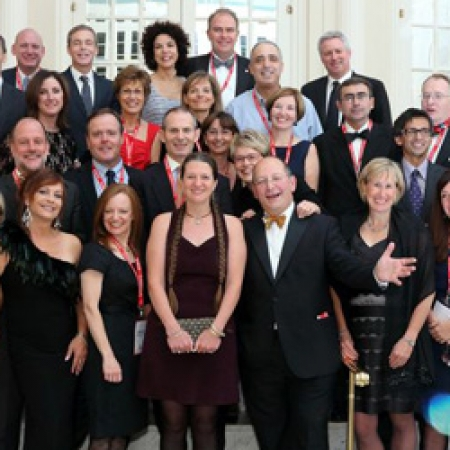 MBA Class of 1987 celebrating their 25th reunion