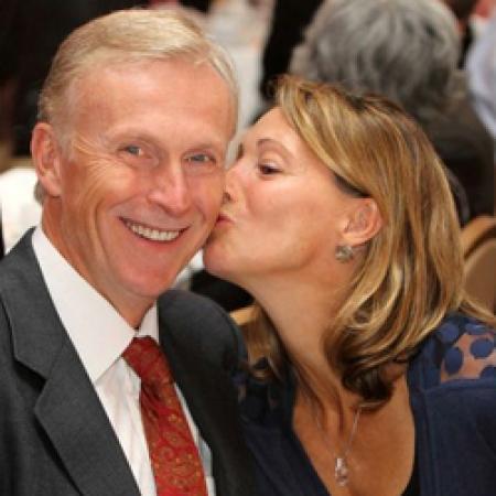 Mike Kuzmicki, MBA'77, and his wife Angele Martineau