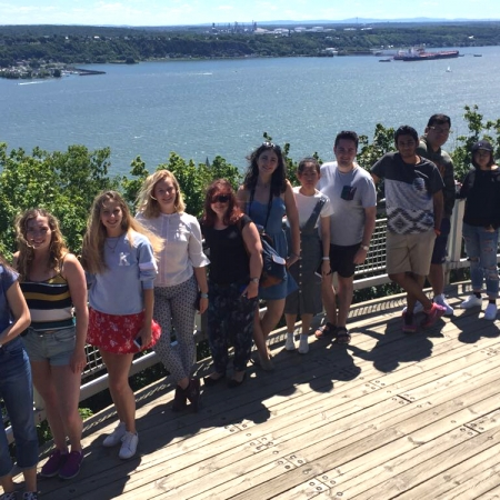 Quebec City: View of the St. Lawrence River