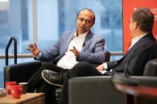 Ashesh Mukherjee and Bertrand Cesvet