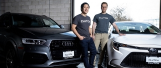 Clutch CEO Dan Park (left) and COO and founder Steve Seibel (Photo: Glenn Lowson)