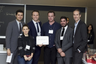 "TEAM PATRIMONEY, awarded 1st place and Coaching Award for ""Investable Business Idea"""