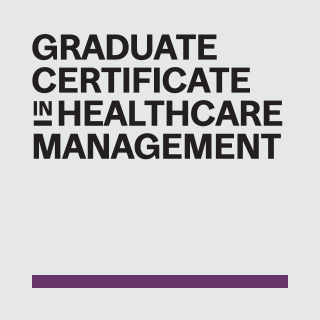 Graduate Certificate in Healthcare Management (GCHM)