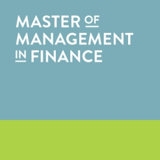 Master of Management in Finance (MMF)