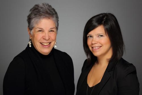 Leslie Breitner and Liz Branco