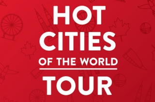 Hot Cities of the Word Tour