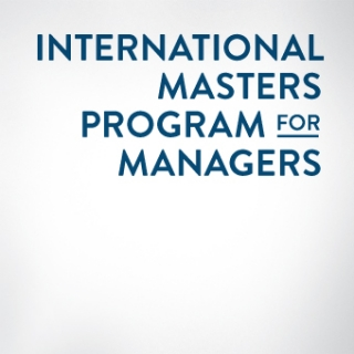 International Masters Program for Managers