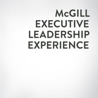 McGill Executive Leadership Experience