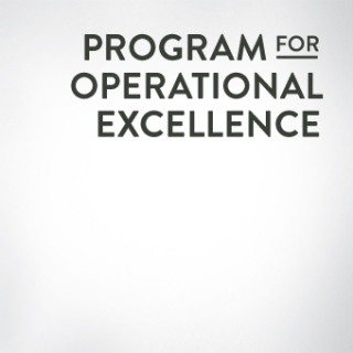 Program for Operational Excellence