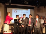 McGill MBA Japan students receiving their 1st place award