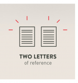 Two Letters Of Reference