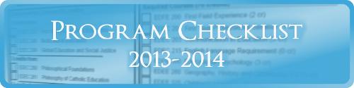 Secondary Mathematics Program Checklist 2013-2014