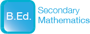B.Ed. Secondary Mathematics