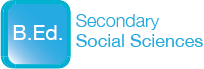 B.Ed. Secondary Social Sciences