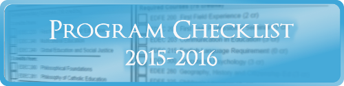 Secondary Mathematics Program Checklist 2015-2016