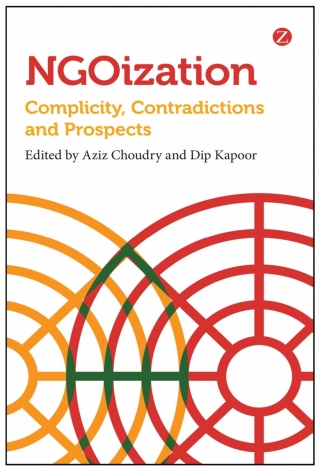NGOization - image of the book cover
