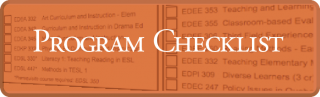 Program Checklist