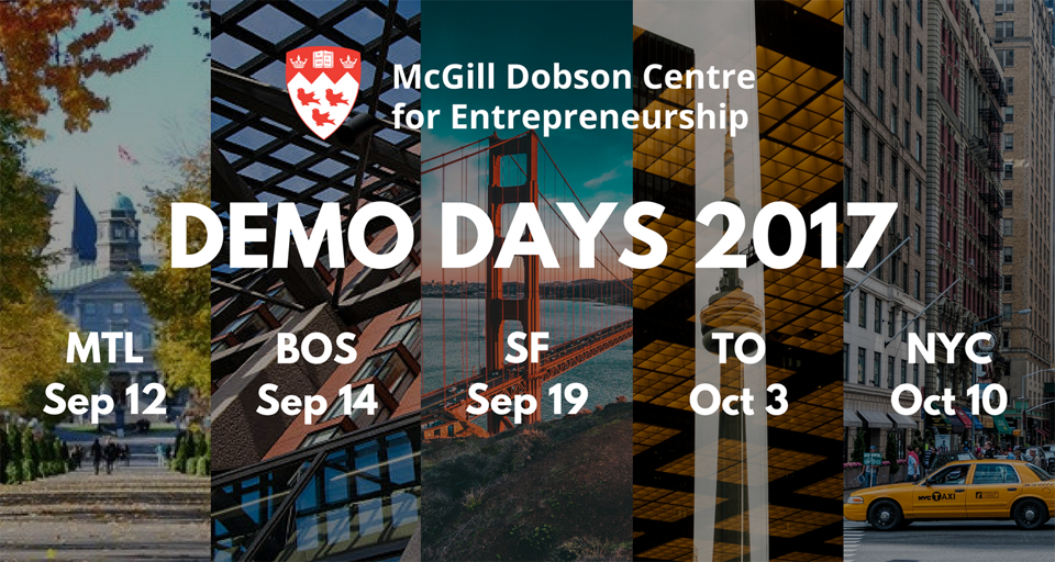 McGill Demo Days 2017