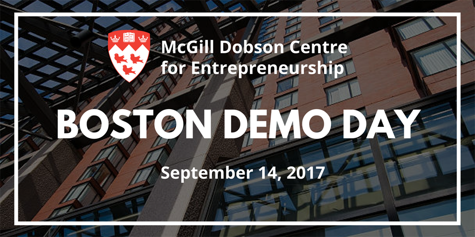 McGill Boston Demo Day