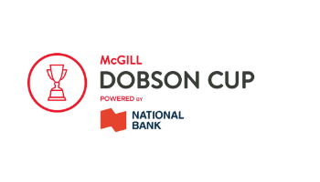 McGill Dobson Cup powered by National Bank logo