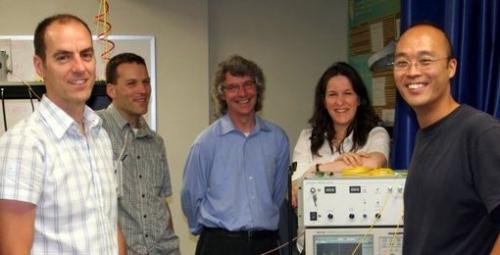 McGill Photonic Systems Group professors Martin Rochette, Andrew Kirk, David Pla