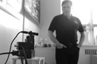 Professor Frank Ferrie in the Robotics Lab