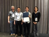 ECE student Jacob Barnett receives the runner-up prize in the Mining Challenge