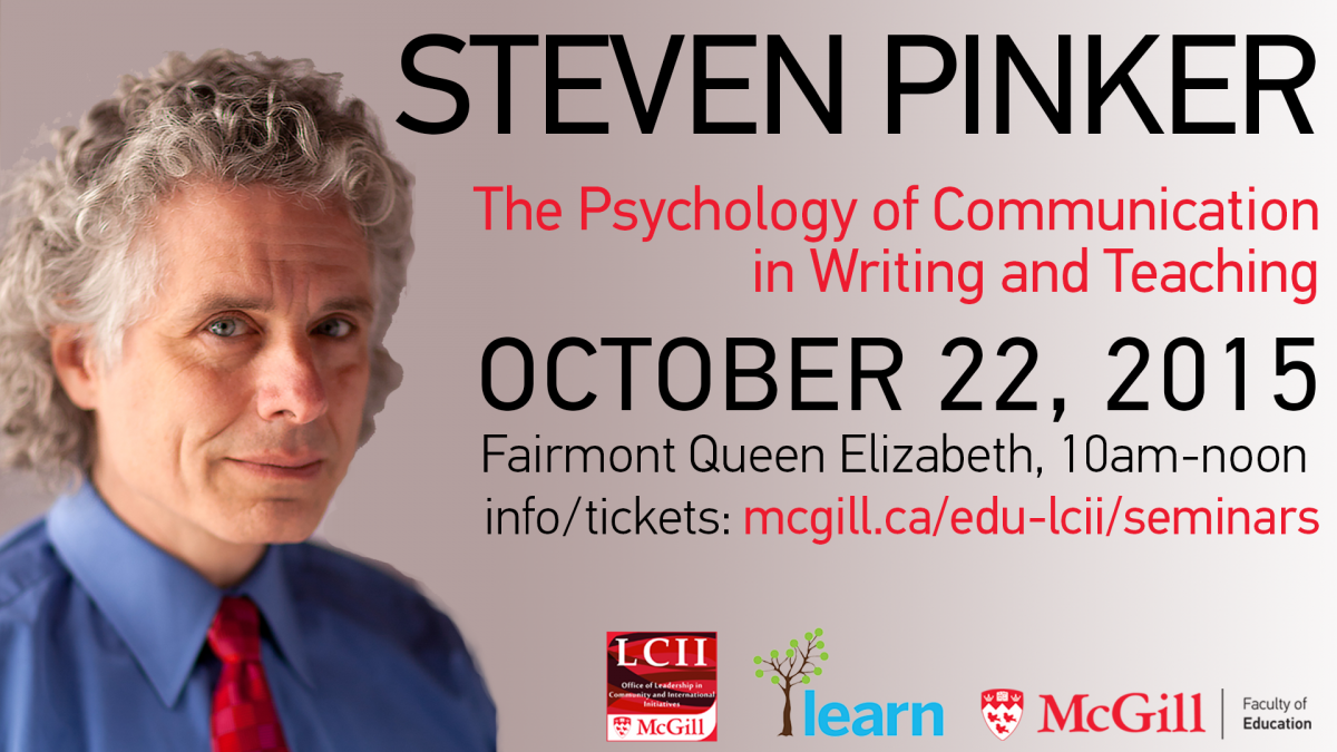 Steven Pinker: 'Many of the alleged rules of writing are actually superstitions'