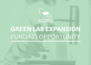 Green Lab Expansion Funding Opportunity