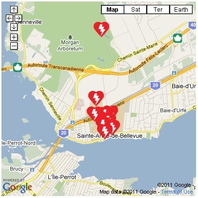 Mac AED Map