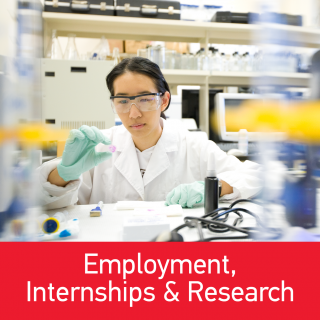 Employment, Internships & Research