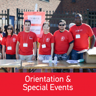 Orientation & Special Events