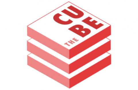 The cube logo.